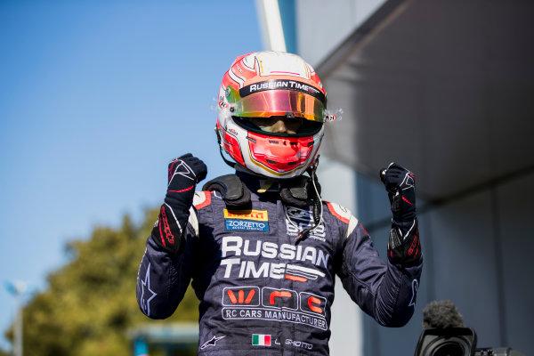 2017 FIA Formula 2 Round 9. Autodromo Nazionale di Monza, Monza, Italy. Sunday 3 September 2017. Luca Ghiotto (ITA, RUSSIAN TIME).  Photo: Zak Mauger/FIA Formula 2. ref: Digital Image _56I9147