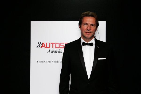 2015 Autosport Awards. Grosvenor House Hotel, Park Lane, London. Sunday 6 December 2015. World Copyright: Adam Warner/LAT Photographic. ref: Digital Image _L5R8971