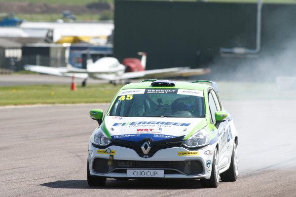 2016 Renault Clio Cup, Thruton, 7th-8th My 2016 Dan Zelos (GBR) Ciceley Motorsport Renault Clio Cup  World copyright. Jakob Ebrey/LAT Photographic