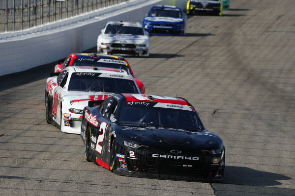 #2: Tyler Reddick, Richard Childress Racing, Chevrolet Camaro Gimme Radio / Megedeth and #00: Cole Custer, Stewart-Haas Racing, Ford Mustang Haas Automation