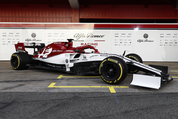 The new Alfa Romeo Racing C38