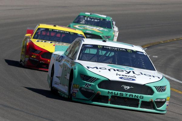 #12: Ryan Blaney, Team Penske, Ford Mustang MoneyLion #22: Joey Logano, Team Penske, Ford Mustang Shell Pennzoil