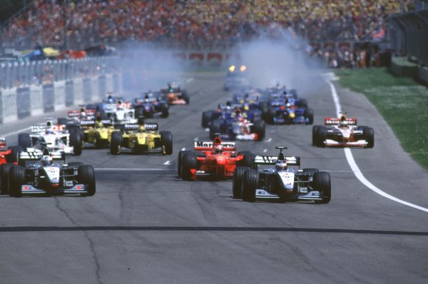 1999 San Marino Grand Prix.
