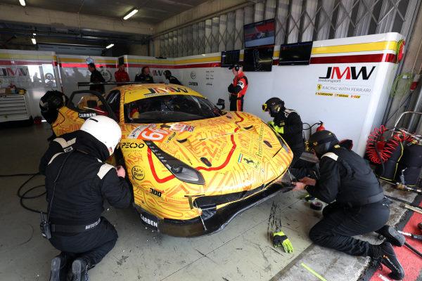 #66 Ferrari F488 GTE / JMW MOTORSPORT / Jeffrey Segal / Matteo Cressoni / Wei Lu