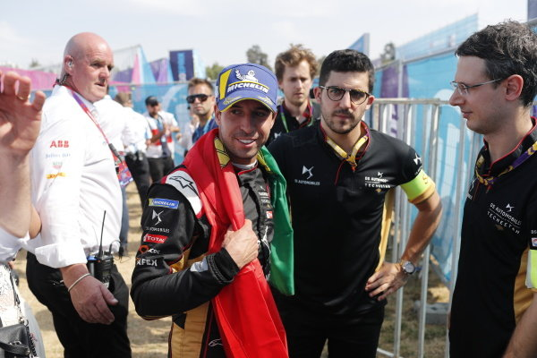 Antonio Felix da Costa (PRT), DS Techeetah after the podium