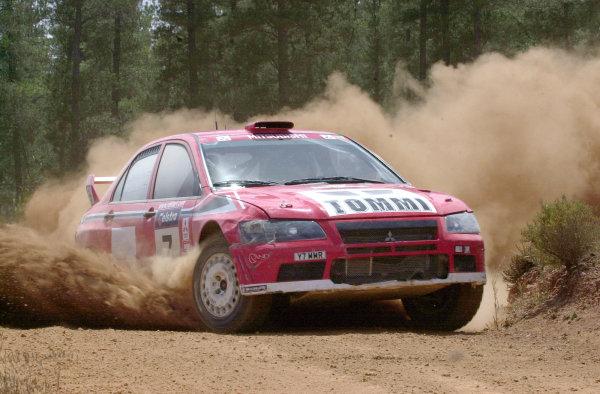 2001 World Rally ChampionshipTelstra Rally Australia, Perth, WA. 1-4 November 2001.Tommi Makinen on stage 20.Photo: Ralph Hardwick/LAT
