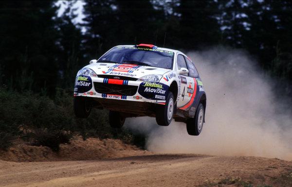 2001 World Rally ChampionshipRally Australia, WRC. 1st - 4th NovemberCarlos Sainz (Ford Focus WRC).World Copyright - McKlein / LAT PhotographicRef: 35mm Image A04