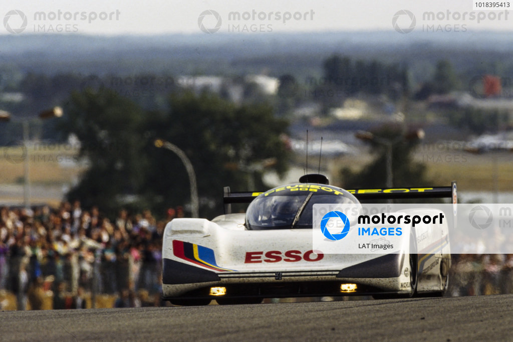 Keke Rosberg / Yannick Dalmas / Pierre-Henri Raphanel, Peugeot Tablot Sport, Peugeot 905.