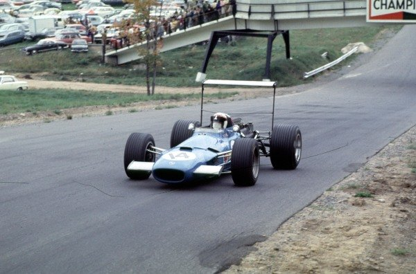 1968 Canadian Grand Prix.Mont-Tremblant, (St. Jovite), Quebec, Canada.20-22 September 1968.Jackie Stewart (Matra MS10 Ford) 6th position.Ref-68 CAN 28.World Copyright - LAT Photographic