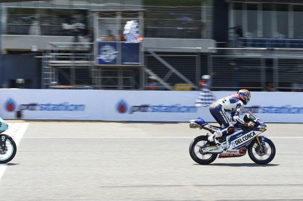 Fabio Di Giannantonio, Del Conca Gresini Racing Moto3, Wins.