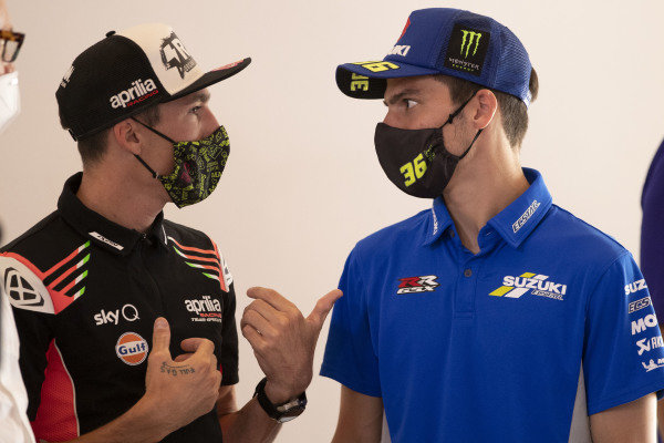 Aleix Espargaro, Aprilia Racing Team Gresini, Joan Mir, Team Suzuki MotoGP.