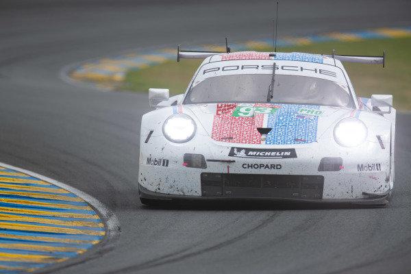 #93 Porsche GT Team, Porsche 911 RSR: Nick Tandy, Patrick Pilet, Earl Bamber