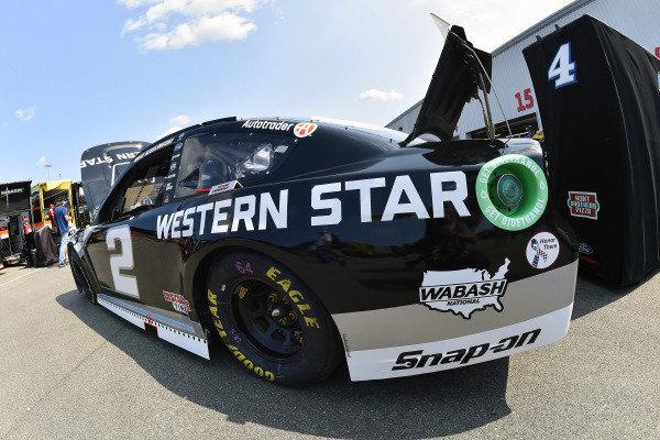 #2: Brad Keselowski, Team Penske, Ford Mustang Western Star