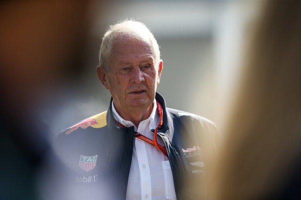 Dr Helmut Marko (AUT) Red Bull Motorsport Consultant at Formula One World Championship, Rd18, Mexican Grand Prix, Race, Circuit Hermanos Rodriguez, Mexico City, Mexico, Sunday 29 October 2017.