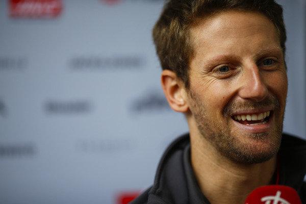 Romain Grosjean, Haas F1 Team.
