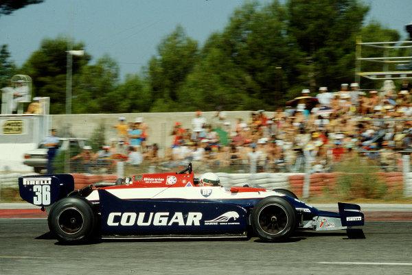 1982 French Grand Prix.Paul Ricard, Le Castellet, France.23-25 July 1982.Teo Fabi (Toleman TG181C Hart).Ref-82 FRA 27.World Copyright - LAT Photographic