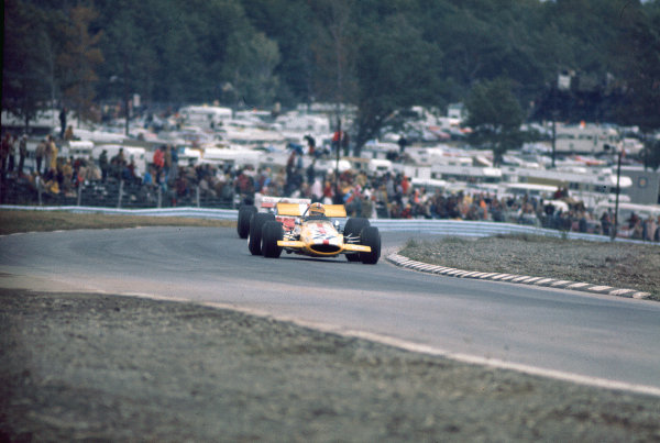 1970 United States Grand Prix.Watkins Glen, New York, USA.2-4 October 1970.Joakim Bonnier (Ecurie Bonnier/McLaren M7C Ford).Ref- 70 USA 08. World Copyright - LAT Photographic