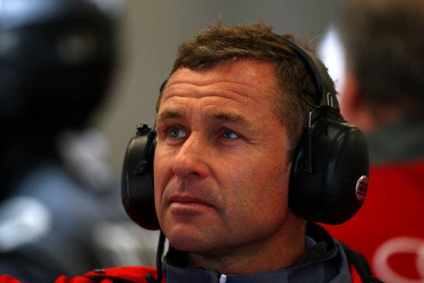 2015 FIA World Endurance Championship, Spa-Francorchamps, Belgium. 30th April - 2nd May 2015. Tom Kristensen (DK) Audi Sport Team Joest. World Copyright: Ebrey / LAT Photographic.