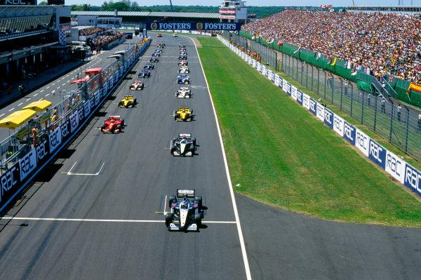 Silverstone, England.9th - 11th July 1999. Rd 8.xxxWorld Copyright: LAT PhotographicRef: 99GB13