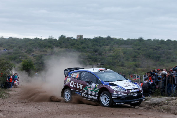 2013 World Rally Championship Rally Argentina 1st - 4th May 2013 Evgeny Novikov, Ford, action Worldwide Copyright: McKlein/LAT