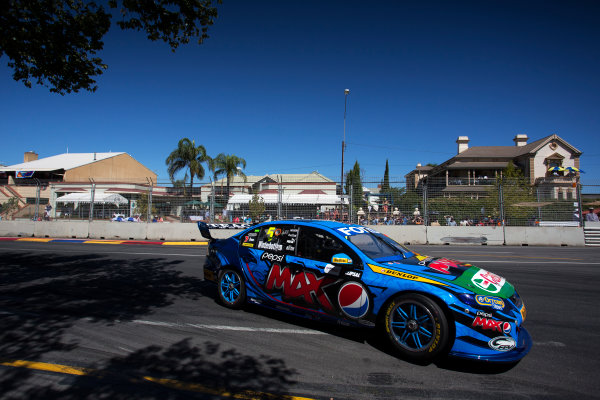 2013 V8 Supercar Championship. Round 1. Clipsal 500, Adelaide. 3rd March 2013. Sunday Race 2. Mark Winterbottom (Pepsi Max Crew/Ford Performance Racing – Ford Falcon FG) Action.  World Copyright:  Daniel Kalisz/LAT Photographic Ref: Digital Image DKAL7045.jpg .