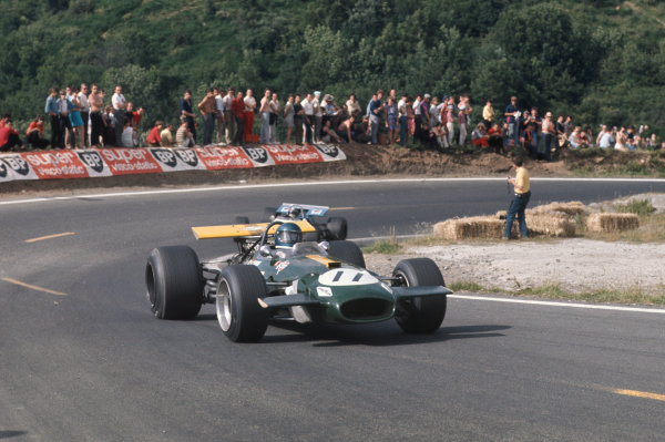 Clermont-Ferrand, France. 4-6th July 1969.  Jacky Ickx, Brabham BT26A Ford.  Ref: 69FRA05. World Copyright: LAT Photographic