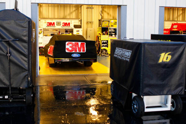 28-29 June, 2013, Sparta, Kentucky USA Greg Biffle's car during rain delay © 2013, Russell LaBounty LAT Photo USA .