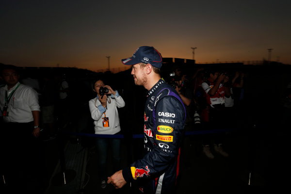 Suzuka Circuit, Suzuka, Japan.  Sunday 13th October 2013.  Sebastian Vettel, Red Bull Racing. World Copyright: Charles Coates/LAT Photographic  ref: Digital Image _N7T7409