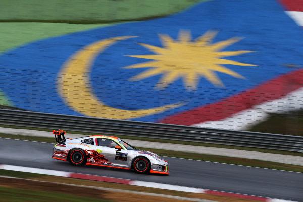 Weng Sun Mok (SIN) Clearwater Racing. Porsche Carrera Cup Asia, Sepang, Malaysia, 28-30 March 2014.