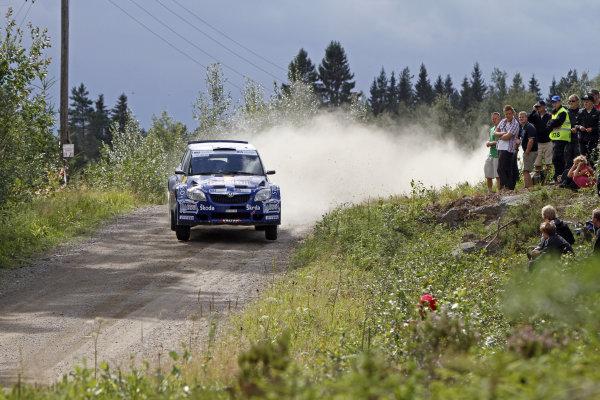 Round 08Rally Finland 29-31 July 2010Juho Hanninen, Skoda S2000, ActionWorldwide Copyright: McKlein/LAT