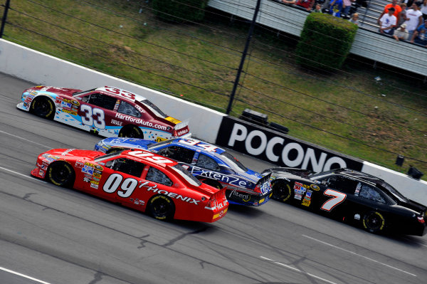 30 July - 1 August, 2010, Long Pond, Pennsylvania USALandon Cassill, Kevin Conway, Clint Bowyer and P J. Jones©2010, LAT South, USALAT Photographic