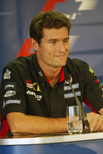 2002 Hungarian Grand Prix - PreviewBudapest, Hungary. 15th August 2002.Mark Webber.World Copyright: Steve Etherington/LATref: Digital Image Only