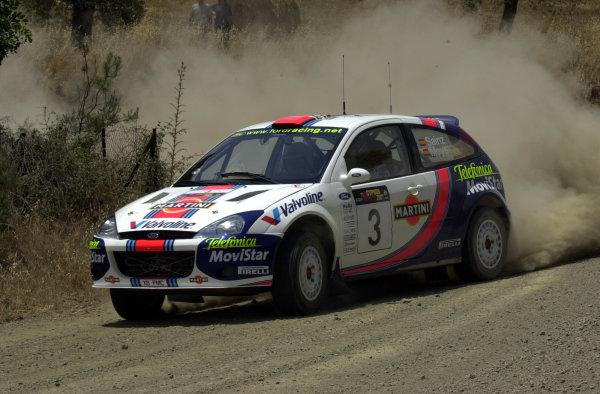 2001 World Rally ChampionshipCyprus Rally, June 1-3, 2001Carlos Sainz during shakedownPhoto: Ralph Hardwick/LAT
