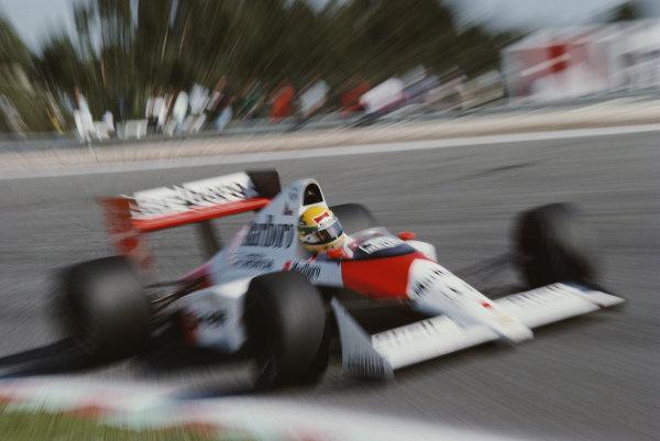 Ayrton Senna, McLaren MP4-5B Honda.