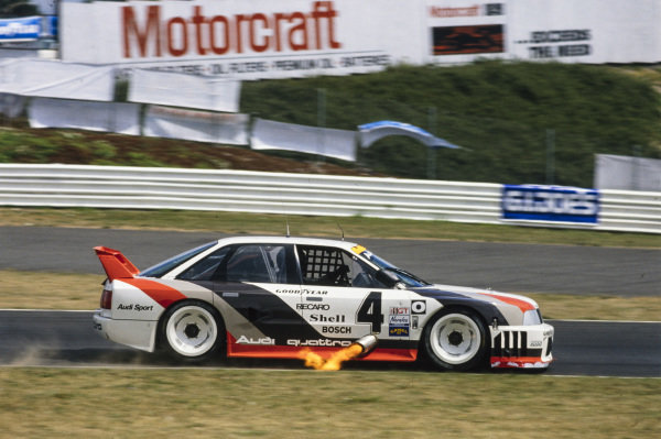 Hans-Joachim Stuck, Audi 90 quattro.