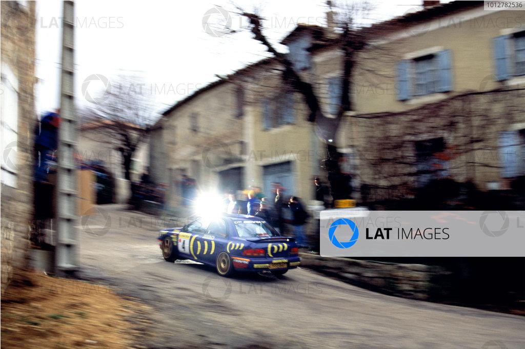 1995 Monte Carlo Rally.