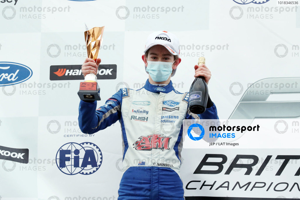Christian Mansell (AUS) - Carlin British F4