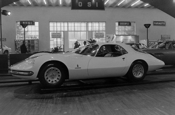 Pininfarina Alfa Romeo Giulia 1600 Sports Coupe (TZ1-based)