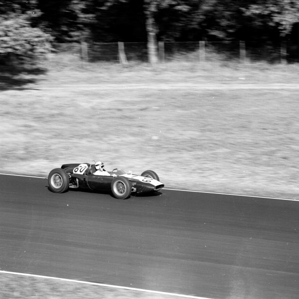 1961 Italian Grand Prix, Monza, Italy.Jackie Lewis (Cooper T53-Climax), 4th position.Ref-10524.World - LAT Photographic