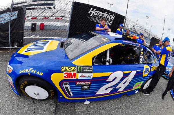 Monster Energy NASCAR Cup Series Toyota Owners 400 Richmond International Raceway, Richmond, VA USA Friday 28 April 2017 Chase Elliott, Hendrick Motorsports, NAPA Brakes Chevrolet SS World Copyright: Nigel Kinrade LAT Images ref: Digital Image 17RIC1nk00073