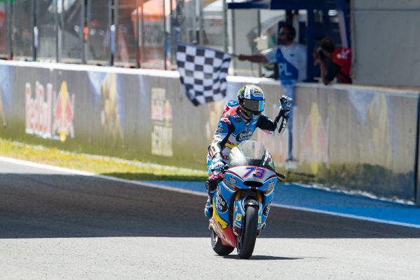2017 Moto2 Championship - Round 4 Jerez, Spain Sunday 7 May 2017 Race winner Alex Marquez, Marc VDS World Copyright: Gold & Goose Photography/LAT Images ref: Digital Image 16394