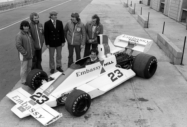 43 years on from the crash which claimed the lives of the Embassy Hill team.