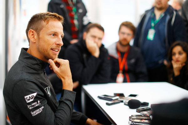 Suzuka Circuit, Japan. Friday 06 October 2017. Jenson Button, McLaren.  World Copyright: Steven Tee/LAT Images  ref: Digital Image _O3I6395