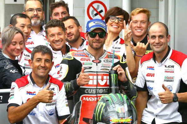 2017 MotoGP Championship - Round 10 Brno, Czech Republic Sunday 6 August 2017 Cal Crutchlow, Team LCR Honda World Copyright: Gold and Goose / LAT Images ref: Digital Image 50366