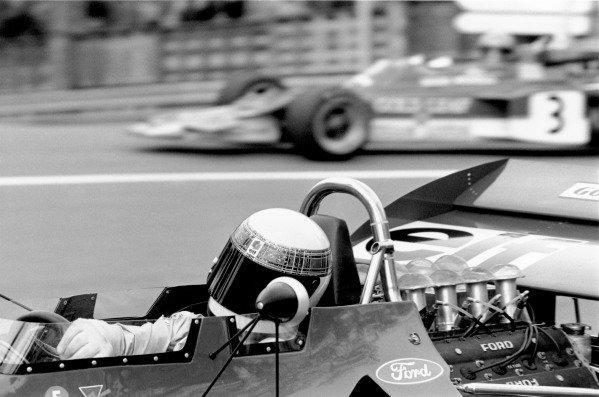 1971 Monaco Grand PrixMonaco, Monte Carlo. 1971Jackie Stewart (3 0 Tyrrell 003-Cosworth V8), 1st position.World Copyright: LAT Photographicref: 3679 #23