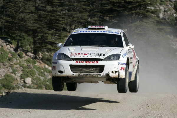 2004 FIA World Rally Champs. Round seven, Rally Turkey.24th- 27th June 2004.Janne Tuohino, Ford, action.World Copyright: McKlein/LAT