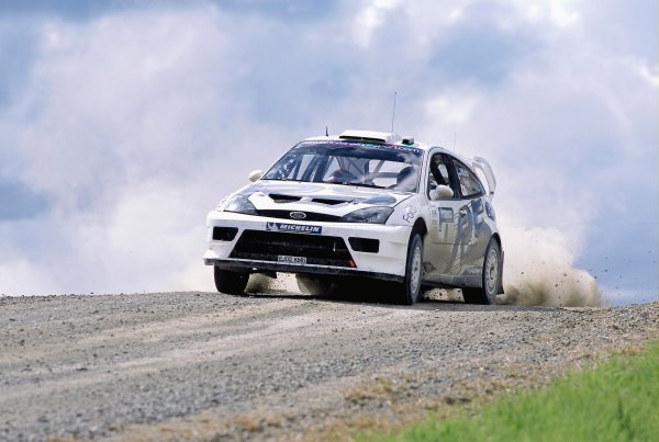 2003 World Rally ChampionshipRally New Zealand. 9th - 13th April 2003.Markko Martin/Michael Park (Ford Focus RS WRC 03), retired stage 14.World Copyright: LAT Photographicref: 35mm Image A10