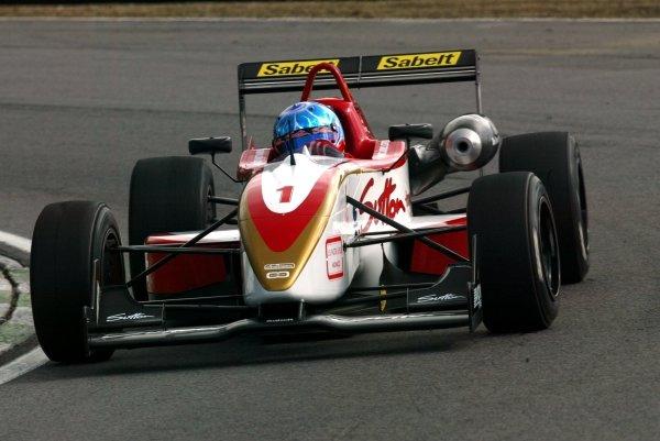 Clivio Piccione (MON) Carlin Motorsport..British Formula Three Championship, Press day.Brands Hatch, Kent, England. 24th March 2004Digital Image