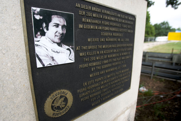 Round 5, Norisring, Germany. 27th - 29th June 2008.Monument in memory of Pedro Rodriguez / City Features of Nürnberg area / scenic shotsWorld Copyright: xpb cc/LATref: Digital Image Only