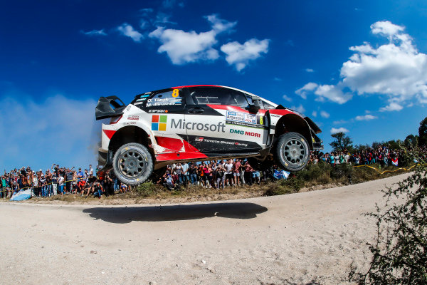 Ott Tanak in a class of his own on Rally Argentina